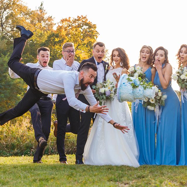 結婚式 友人
