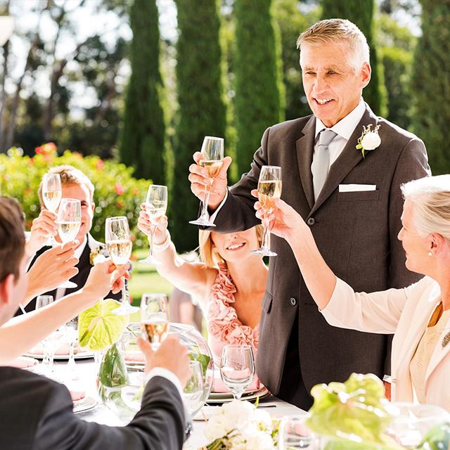 結婚 式 乾杯 挨拶 友人