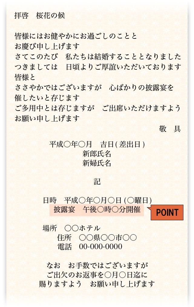 パターン別!【結婚式招待状の文例】カジュアル形式・海外挙式