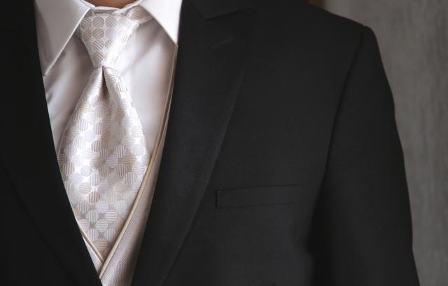 結婚式ネクタイ【基本のマナー】