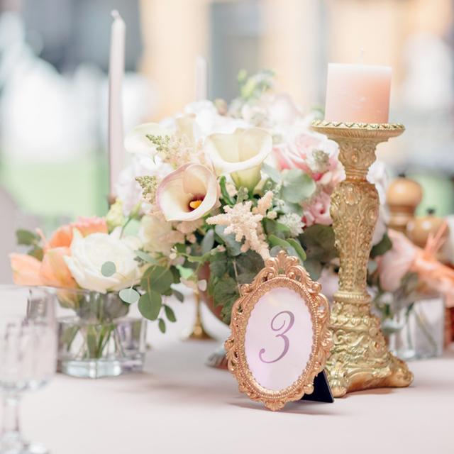 大人っぽい演出が叶う アンティークな結婚式の装花アイデア集 結婚